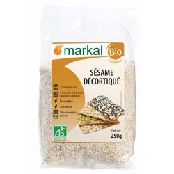 Sésame décortiqué bio 250 g Markal