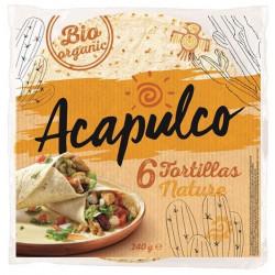 Tortilla wraps de blé bio x 6 Acapulco