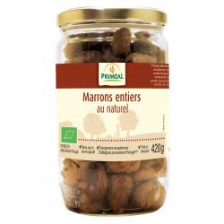 Marrons entiers au naturel 420 g