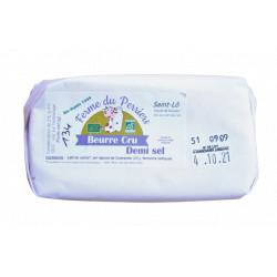 Beurre 1/2 sel bio 130 g Ferme du Perriers