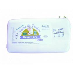 Beurre cru doux bio 130 g Ferme du Perriers