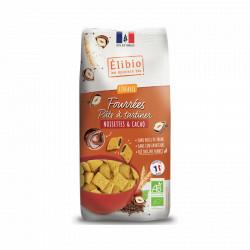 Céréales fourrées pâte à tartiner noisette et cacao 375 g Elibio