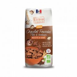 Tout Choco'crok bio noisette et cacao 375 g Elibio