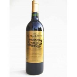 Sainte-Foy Bordeaux rouge bio Chateau La Maubastit 2014 75 cl
