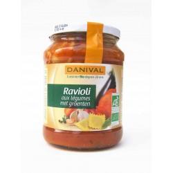 Raviolis légumes bio 670 g