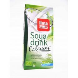 Lait de soja calcium bio 1 l Lima